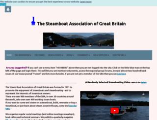 steamboatassociation.org.uk screenshot