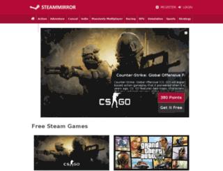 steammirror.com screenshot