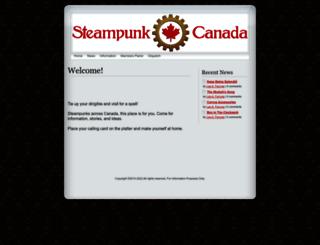 steampunkcanada.ca screenshot