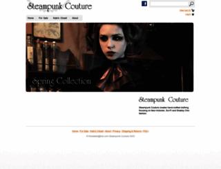 steampunkcouture.com screenshot