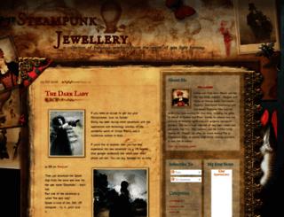 steampunkjewellery.blogspot.com screenshot