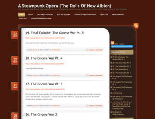 steampunkopera.wordpress.com screenshot
