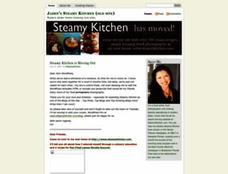 steamykitchen.wordpress.com screenshot