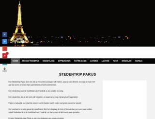 stedentripparijs.eu screenshot