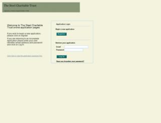 steel-applications.org.uk screenshot