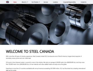 steelcanada.com screenshot