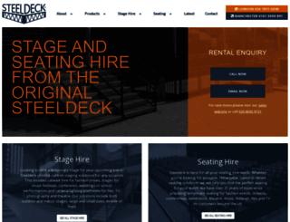 steeldeck.co.uk screenshot
