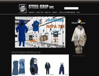 steelgripinc.com screenshot