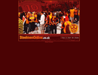 steelmenonline.co.uk screenshot