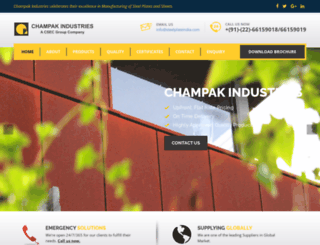 steelplateindia.com screenshot