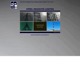 steelpro.co.in screenshot