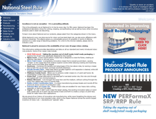steelrule.com screenshot