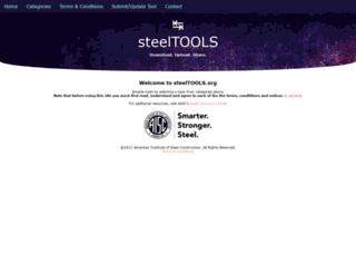 steeltools.org screenshot