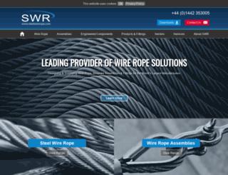 steelwirerope.com screenshot