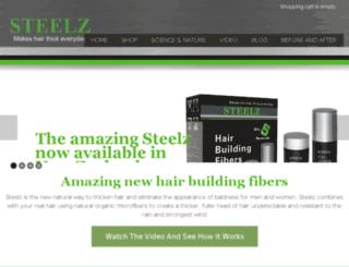 steelz.co.nz screenshot