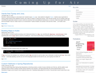 steeplesoft.com screenshot