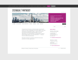stefaniuk.com.pl screenshot