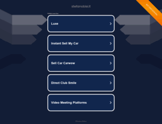 stefanobisi.it screenshot
