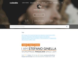 stefanoginella.com screenshot