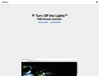 stefanvd.net screenshot
