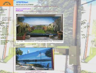 stefenart.com screenshot