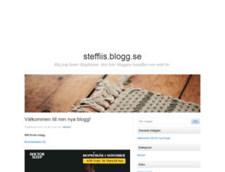 steffiis.blogg.se screenshot