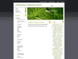 stehovani-nabytku-brno.webnode.cz screenshot