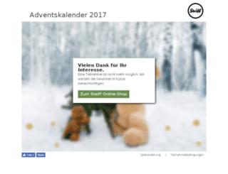 steiff.digitales-weihnachten.com screenshot