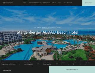 steigenbergeraldaubeach.com screenshot