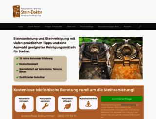 stein-doktor.com screenshot