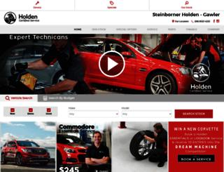 steinbornerholden.com.au screenshot