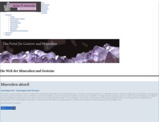 steine-und-minerale.de screenshot