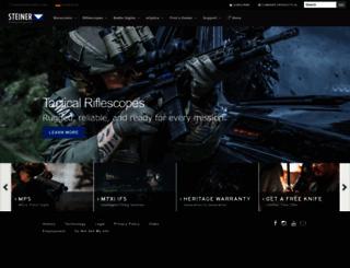 steiner-optics.com screenshot