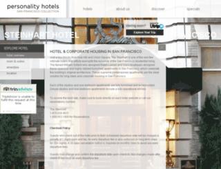 steinharthotel.personalityhotels.com screenshot