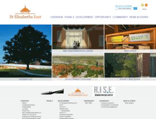 stelizabethseast.com screenshot
