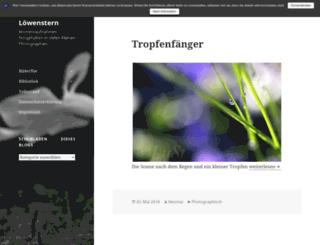 stella-leonis.com screenshot