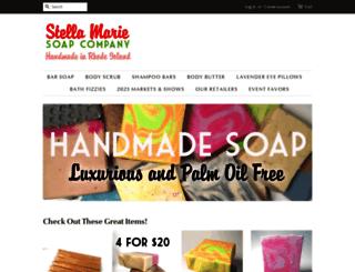 stellamariesoap.com screenshot
