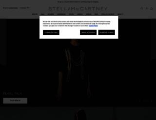 stellamccartney.com screenshot