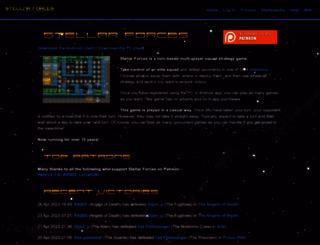 stellarforces.com screenshot