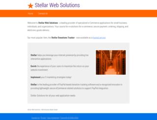 stellarwebsolutions.com screenshot