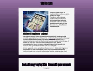 stellatum.fi screenshot