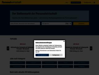 stellen.personalwirtschaft.de screenshot