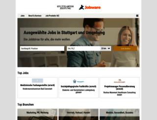 stellenmarkt.stuttgarter-zeitung.de screenshot