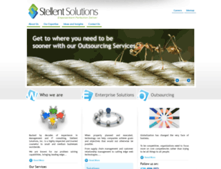 stellentsolutions.com screenshot