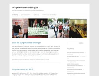 stellinger-buergerkomitee.de screenshot