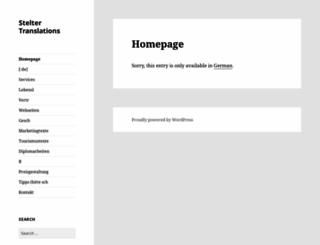 steltertranslations.com screenshot