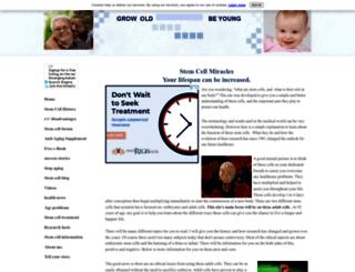 stem-cell-miracles.com screenshot