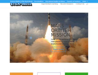 stem-india.org screenshot