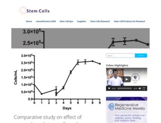 stemcells2013.com screenshot
