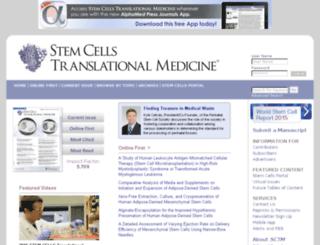 stemcellstm.alphamedpress.org screenshot
